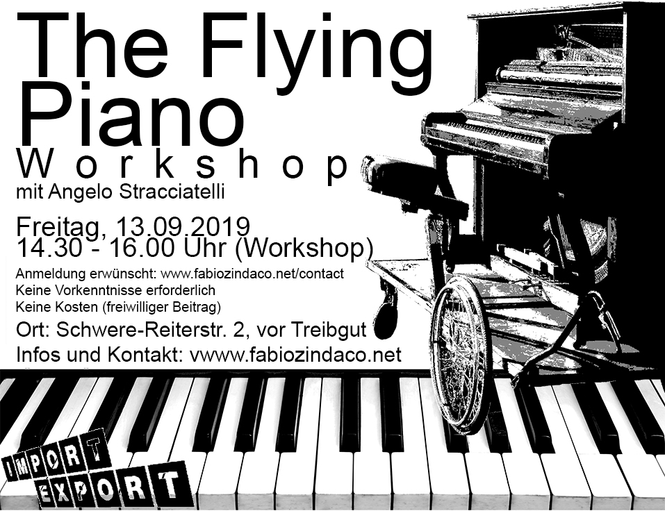 The Flying Piano - Workshop